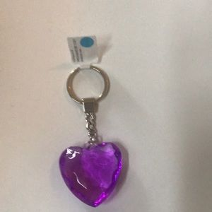 Accessories - New beautiful heart crystal keychain